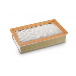 Плоский складчатый HEPA фильтр для пылесосов Karcher серии NT