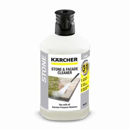 Средство для очистки камня и фасадов Plug-n-Clean 3 в 1 Karcher, 1 л  6.295-765.0